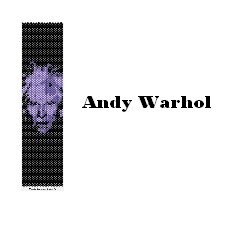 "Griglia peyote ""Andy Warhol"" /Peyote grid ""Andy Warhol"""