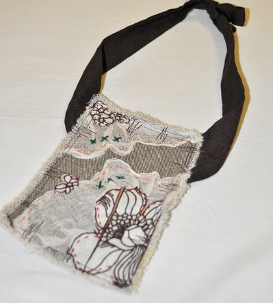 Fabric necklace- creazioni di stoffa