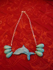 collana delfino
