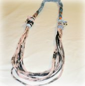 Fabric necklace- collana in jersey