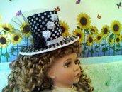 Mini cappello / Mini hat modello medio