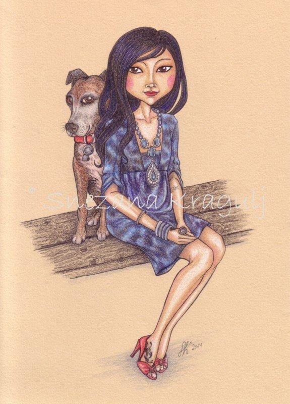 Illustrazioni-ritratti- personalizzate - Custom Artworks