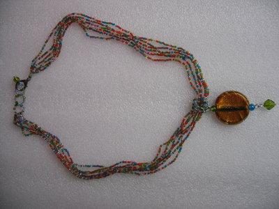 Torchone di perle e ciondolo