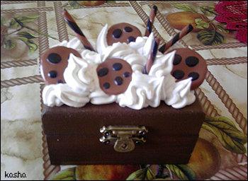 Portagioie cioccolatoso