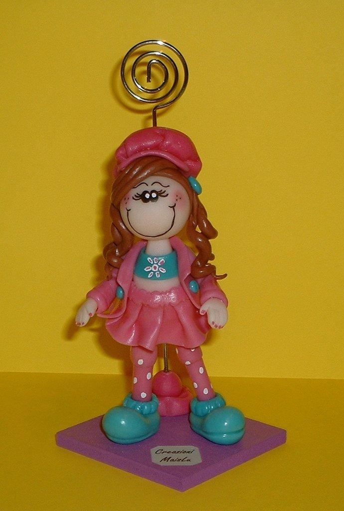Molly (bambolina in pasta di mais)
