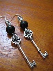 orecchini black key