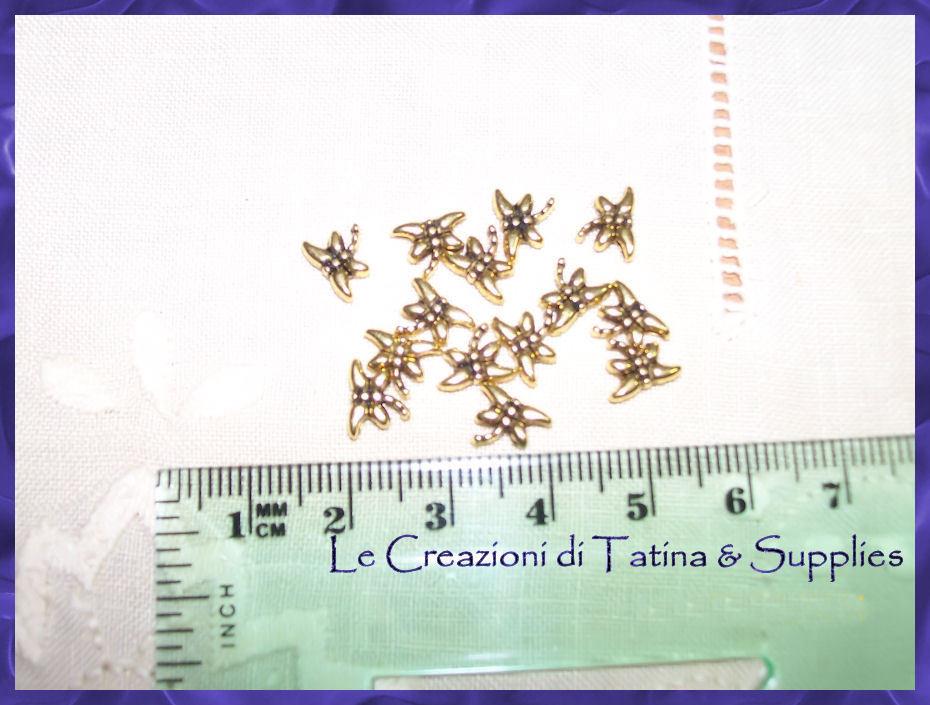 10 x spaziatori farfalline