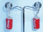 Orecchini Coca Cola