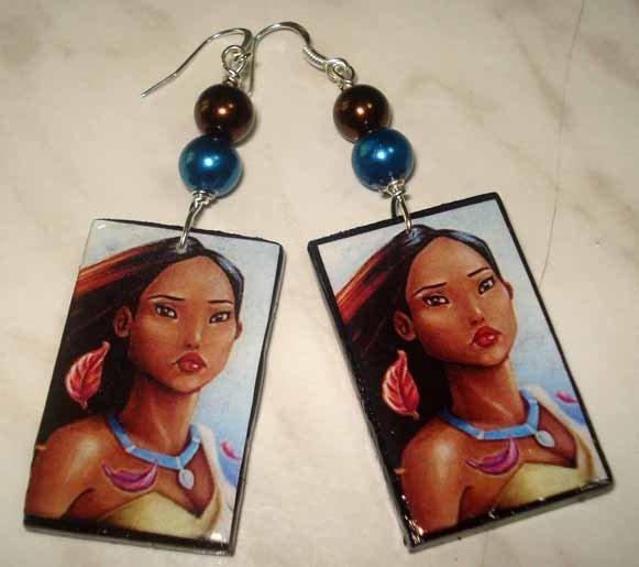 Orecchini Pocahontas