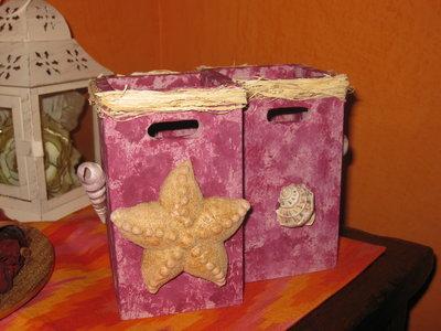 doppio box in legno