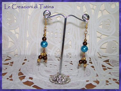 orecchini in perle