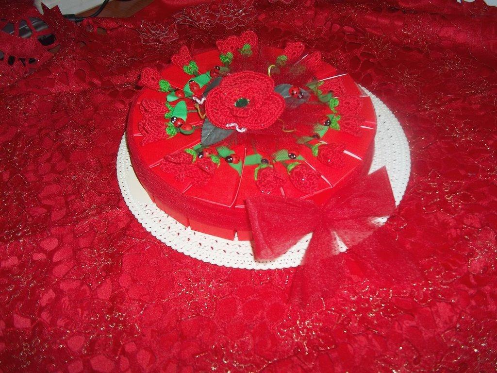 torta bomboniera per laurea