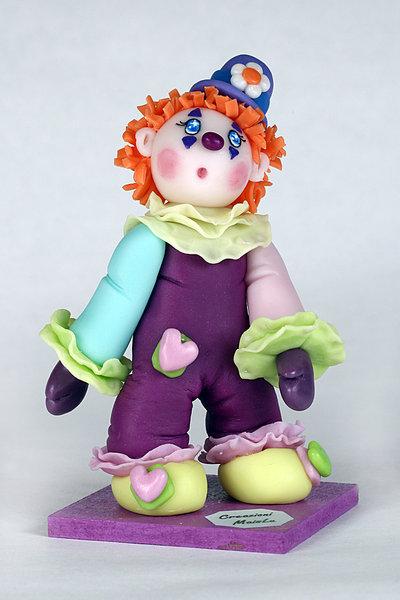 Clown in pasta di mais mod. 2