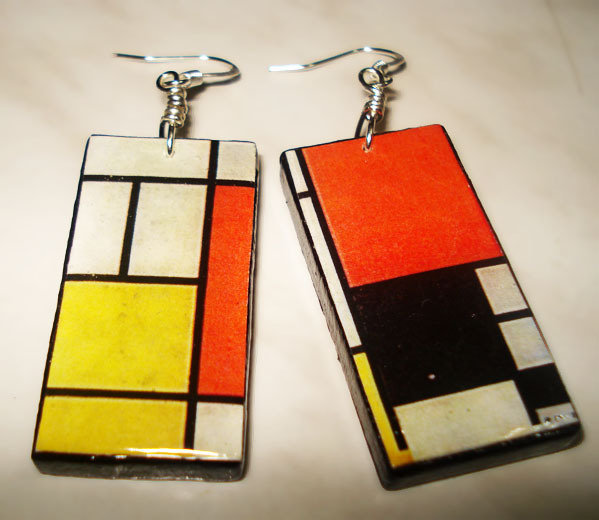 Orecchini Mondrian