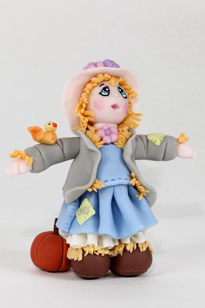 Carlotta (bambolina in pasta di mais)
