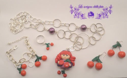 Bambolina Kawaii collezione summer fruits cherries