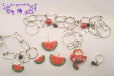 Bambolina Kawaii collezione summer fruits watermelon