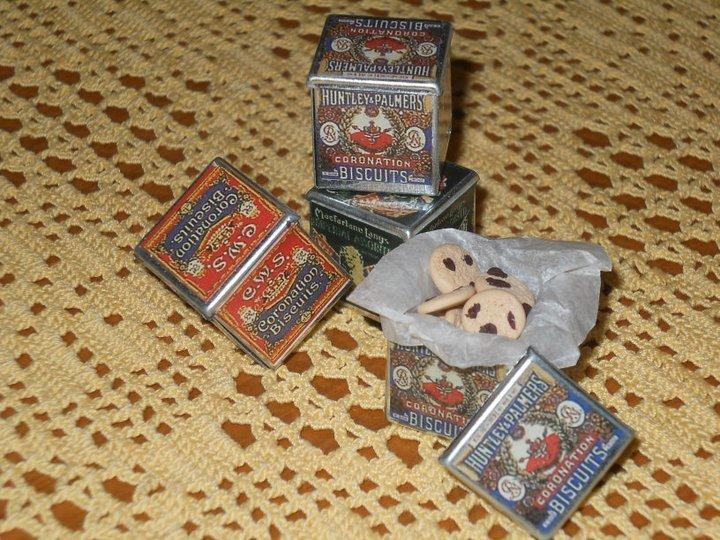 Scatole biscotti in miniatura