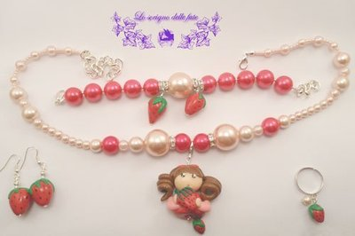 Bambolina Kawaii collezione summer fruits strawberries