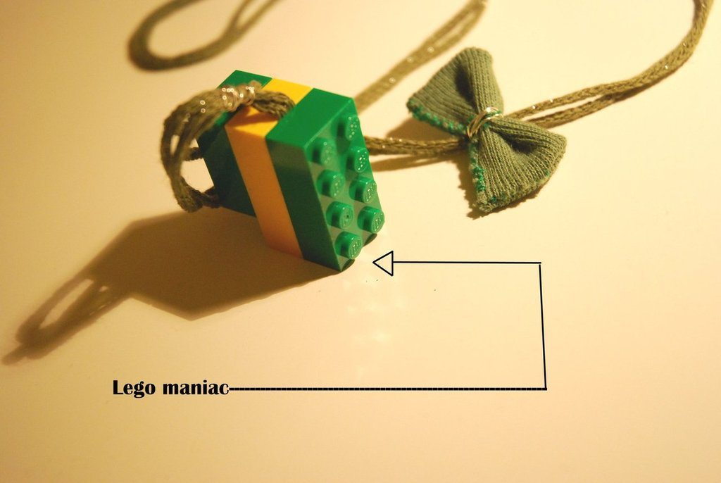 collana Lego maniac