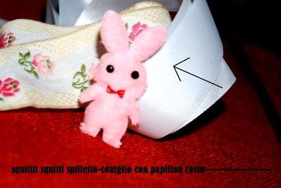 spilla coniglietto