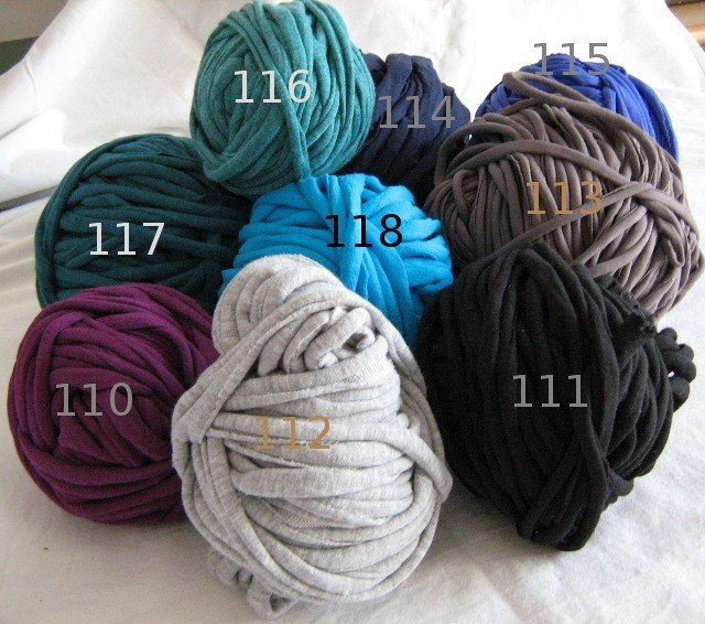 Filato di Jersey Colori vari