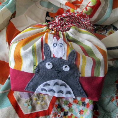 Kinchaku o Portabento Totoro