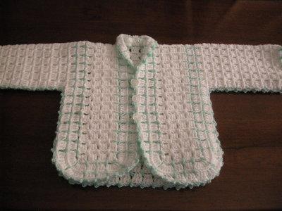 Giacchino di lana per neonato