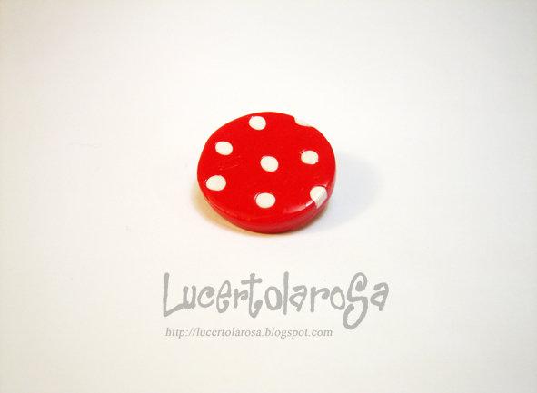 Spilletta a pois/ polka dots pin