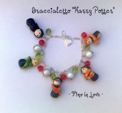 "Braccialetto ""Harry Potter"" fimo"