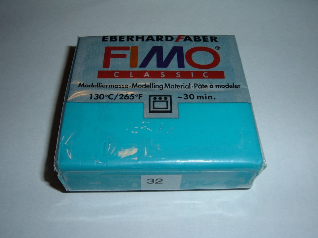 FIMO SOFT TURQUOISE n°32