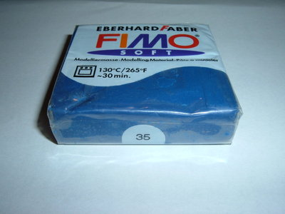 FIMO SOFT BLU n°35