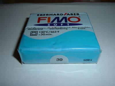 FIMO SOFT TURCHESE n°39