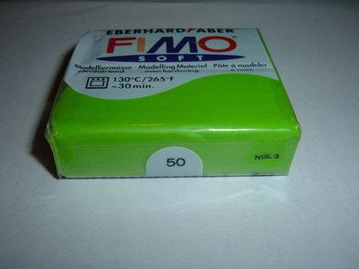 FIMO SOFT VERDE CHIARO n°50