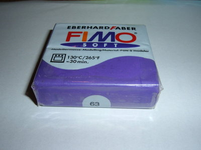 FIMO SOFT VIOLA n°63
