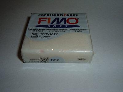 FIMO SOFT BIANCO METALLIC n° 052