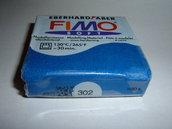 FIMO SOFT BLU METALLIC N°302