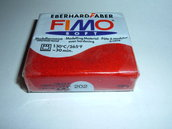 FIMO SOFT ROSSO METALLIC N°202