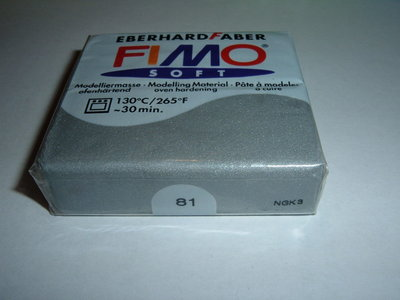 FIMO SOFT ARGENTO n°81