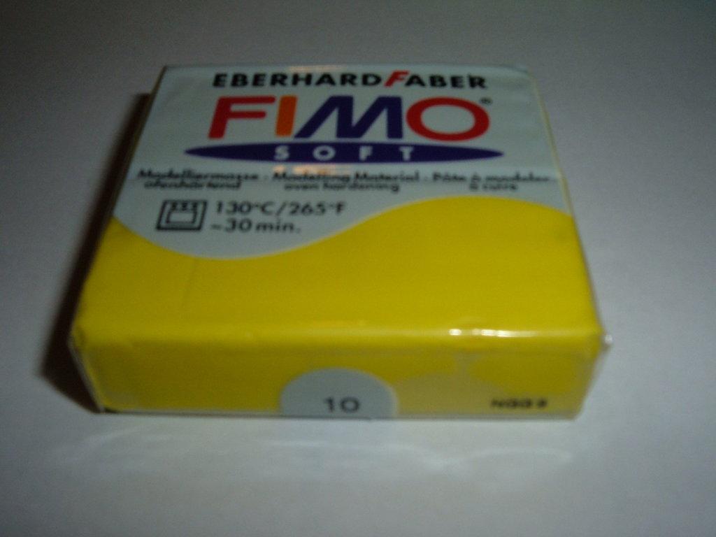 FIMO SOFT GIALLO CHIARO N°10