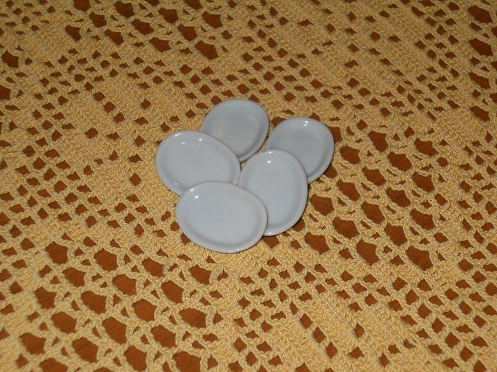 Vassoi Ovali in ceramica