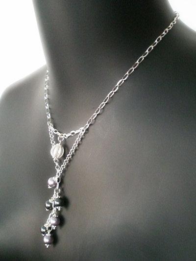 Cod. 0031 - Collana con perle svarowski