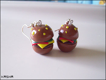 Orecchini Hamburger