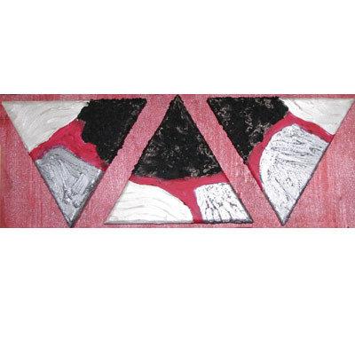 trittico triangoli