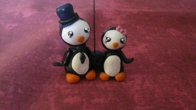 Portafoto pinguini