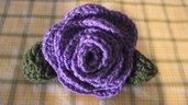 Spilla Fiore / Prendedor Flor