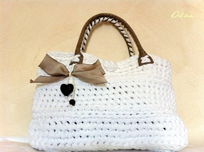 borsa grande bianca