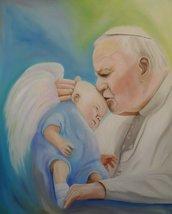 Giovanni Paolo II & l' angioletto