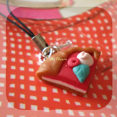CAKE #6 phonestrap