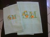 asciugamani coppia